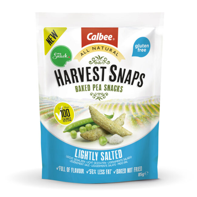 MySnack pea crisps lightly salted 85g