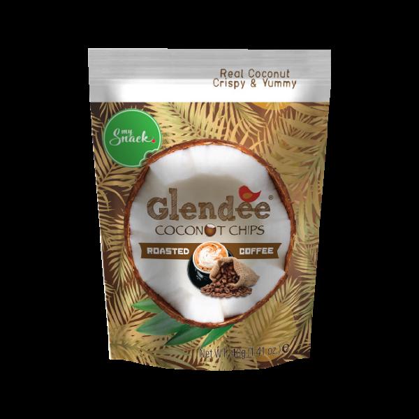 MySnack Kookoslaastud röstitud kohviga 40g