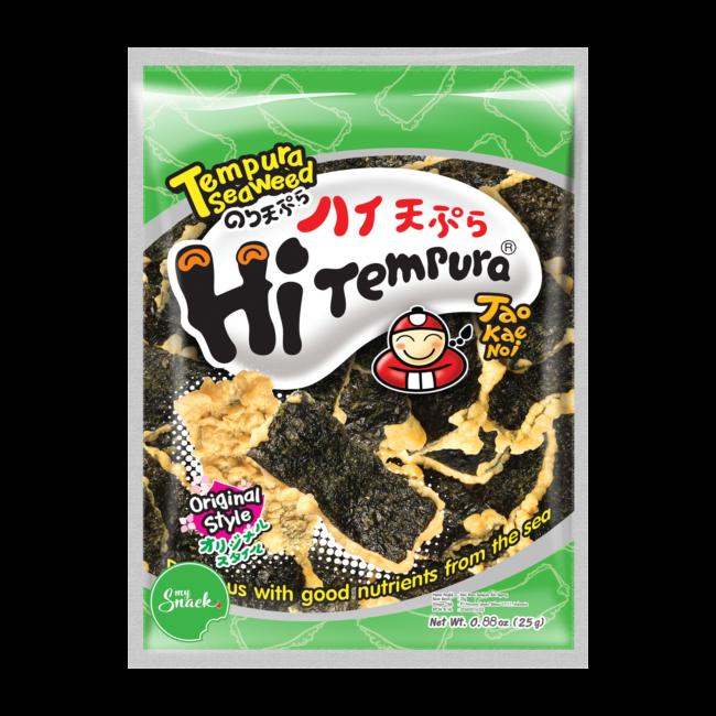 MySnack Seaweed Snack Tempura Original 25g