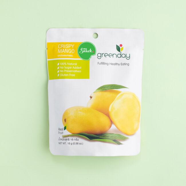 MySnack Krõbe Mango 16g