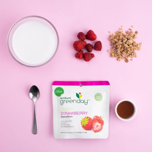MySnack Crispy Strawberry 12g