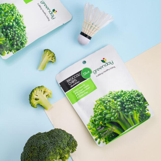 MySnack Crispy Broccoli 20g